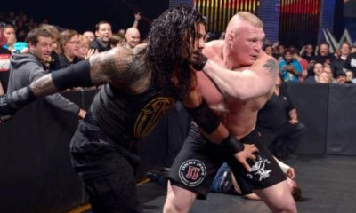 WWE would have Several Ideas for Lesnar vs Reigns in Summerslam