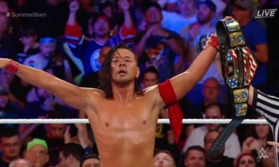 Shinsuke Nakamura Retains the United States Championship at SummerSlam 2018