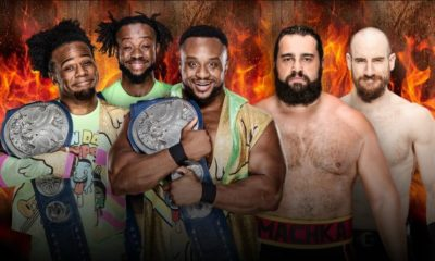 The New Day will face Rusev Day for the SmackDown Tag Team Championship at WWE Hell in a Cell