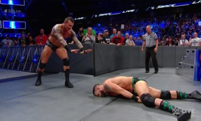 Randy Orton Attacks Tye Dillinger During SmackDown Live