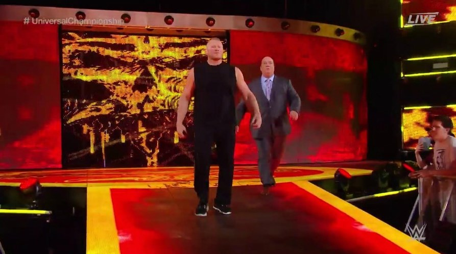 Brock Lesnar Returns at WWE Hell in a Cell