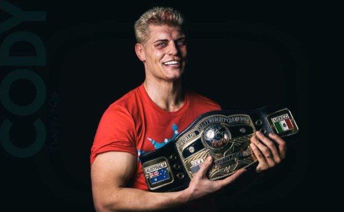 Cody Rhodes will be a Free Agent Starting on January 1