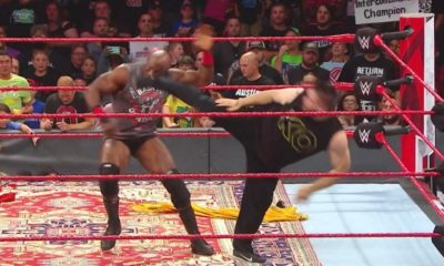 Kevin Owens Reappears on Monday Night Raw to Attack Bobby Lashley