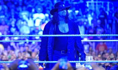 The Undertaker will be at RAW this Monday, September 17th