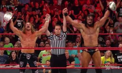 Dolph Ziggler and Drew McIntyre become the new Raw tag team champions