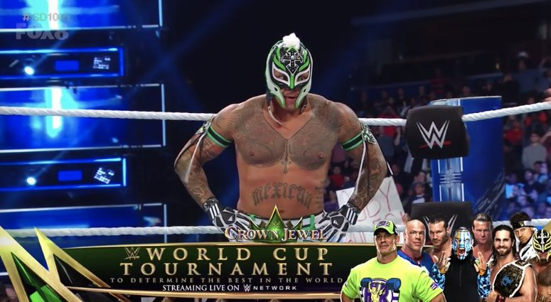 Rey Mysterio Qualifies for the WWE World Cup Final