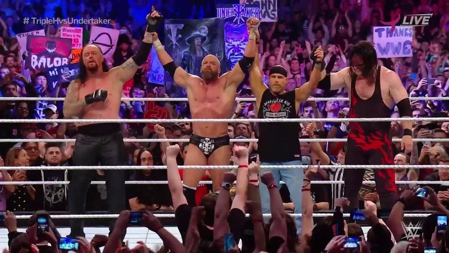 Triple H Beats The Undertaker in WWE Super Show-Down, The Brothers of Destruction Take Justice into their Hands