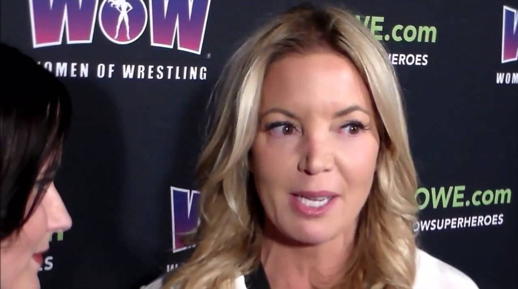 Jeanie Buss' WOW-Women of Wrestling Makes Its Debut on AXS TV
