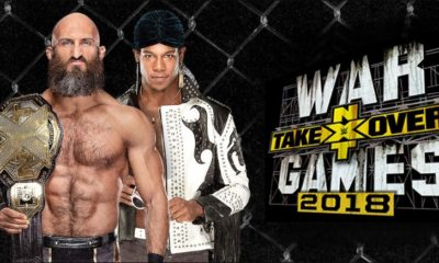 WWE NXT TakeOver: WarGames 2 Card
