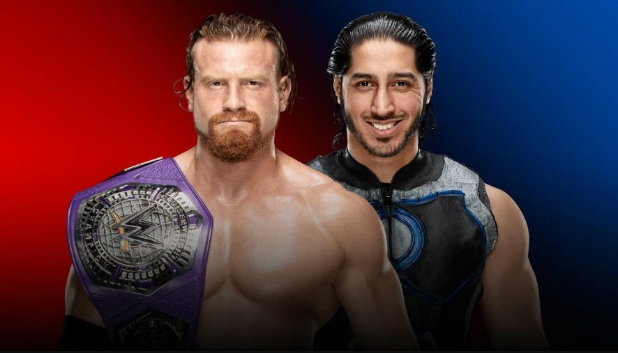 Buddy Murphy and Mustafa Ali will face each other for the WWE Cruiserweight Championship at Survivor Series