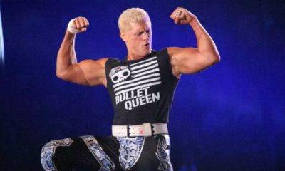 Cody Rhodes possibly injured