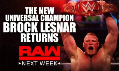WWE RAW Next Week: Brock Lesnar and Stephanie McMahon will return, Alexa Bliss will select the members her team, more