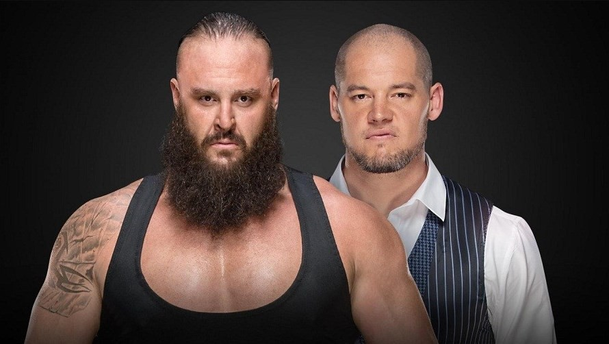 Baron Corbin will face Braun Strowman at WWE TLC