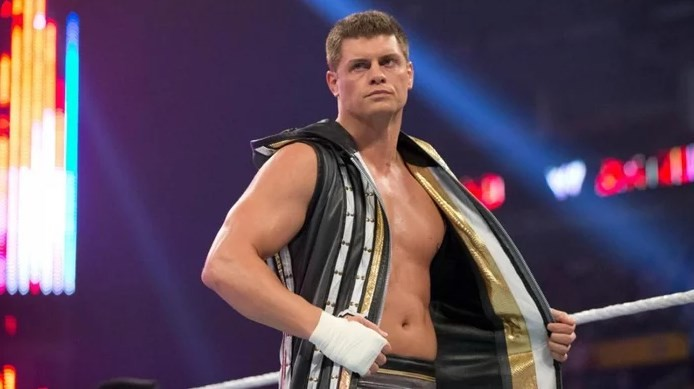 Cody Rhodes injured and removed from Global Wars