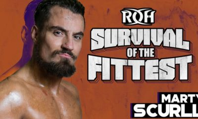 Marty Scurll wins the ROH Survival of the Fittest 2018