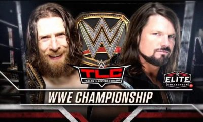 AJ Styles will face Daniel Bryan for the WWE Championship at TLC
