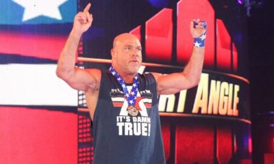 Kurt Angle wants to face Kenny Omega