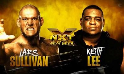 Lars Sullivan will face Keith Lee next week at NXT