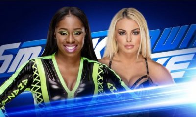 Naomi will face Mandy Rose tomorrow on SmackDown Live