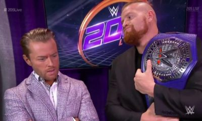 Buddy Murphy will defend his cruiserweight title in a fatal 4-way at Royal Rumble 2019