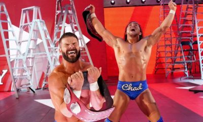 Bobby Roode and Chad Gable becomes the new RAW Tag Team Champions