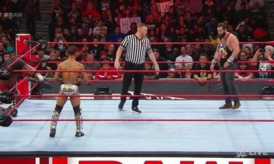 Heath Slater makes his debut as a referee on Monday Night RAW