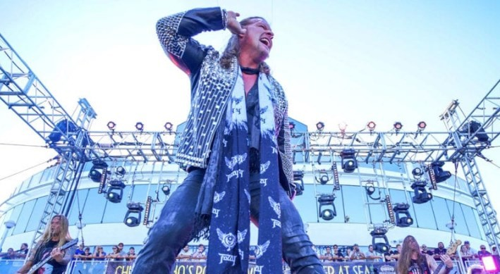 Chris Jericho promised to organize a second Chris Jericho Cruise in 2019