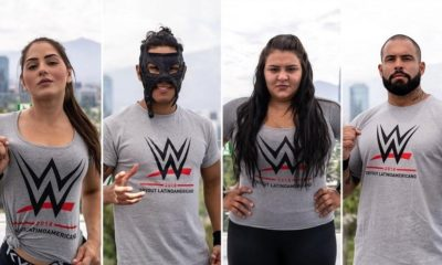 WWE confirms participants of the access tests held in Chile