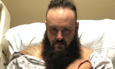 Braun Strowman provides an update on his injury on social networks