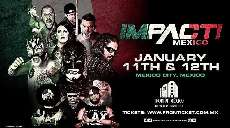 Impact Wrestling will return to Mexico in January