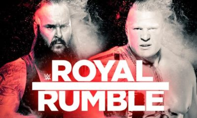 Brock Lesnar will defend the Universal Championship against Braun Strowman at WWE Royal Rumble 2019