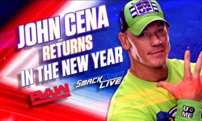 John Cena back for the new year