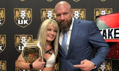 Toni Storm wins the NXT UK Women's Championship at TakeOver: Blackpool
