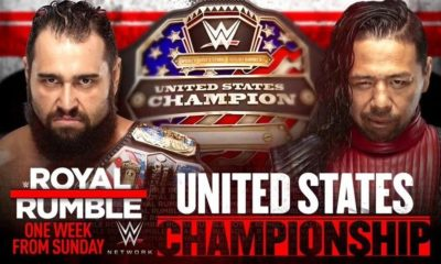 Rusev will defend the United States Championship against Shinsuke Nakamura at Royal Rumble