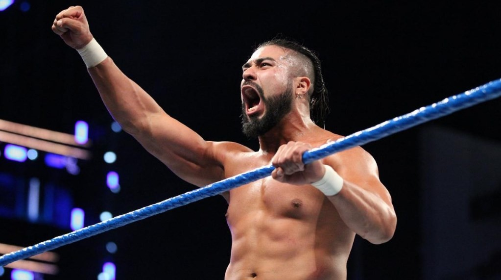 Andrade advises against signing up for WWE