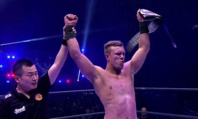 Will Ospreay becomes the new NEVER Openweight Champion at Wrestle Kingdom 13