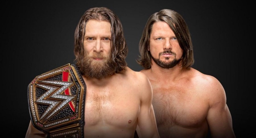 AJ Styles will face Daniel Bryan for the WWE Championship at Royal Rumble 2019