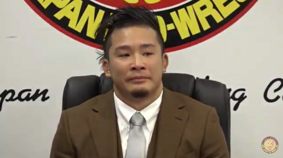KUSHIDA confirms its departure from New Japan Pro-Wrestling