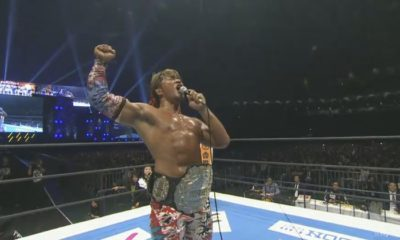 Hiroshi Tanahashi becomes the New IWGP Heavyweight champion