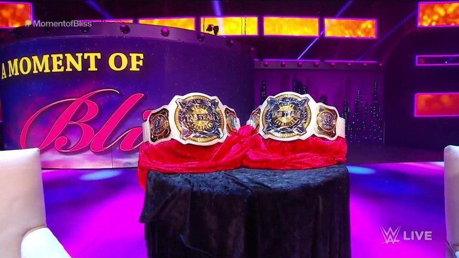 WWE reveals the Women's Tag Team Championships of the company
