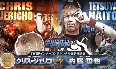 NJPW Wrestle Kingdom 13 Card
