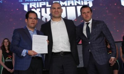 Cain Velasquez signs with AAA