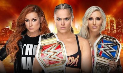 "The match between Ronda Rousey, Becky Lynch and Charlotte Flair at WrestleMania 35 will be ""Winner Takes All"""