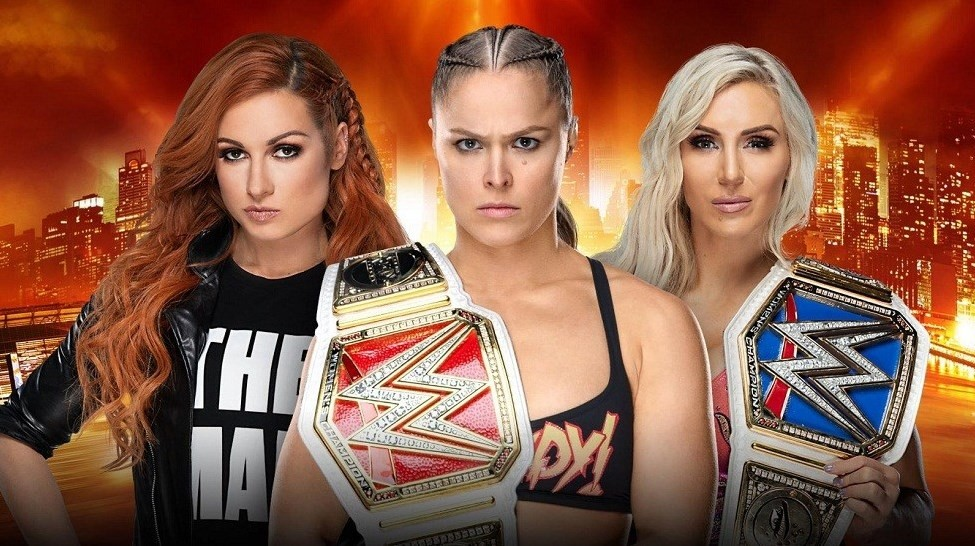 """The match between Ronda Rousey, Becky Lynch and Charlotte Flair at WrestleMania 35 will be """"Winner Takes All"""""""