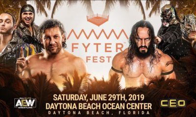 Kenny Omega and The Young Bucks will face PAC and Lucha Brothers at Fyter Fest