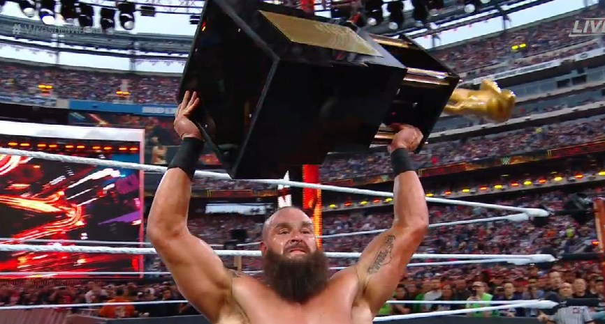 Braun Strowman proclaims the winner of Andre The Giant Memorial Battle Royal at WrestleMania 35