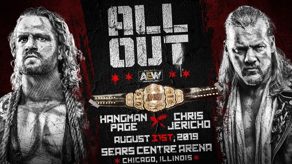 Chris Jericho and Adam Page will face each other for the AEW World Championship at ALL OUT' PPV