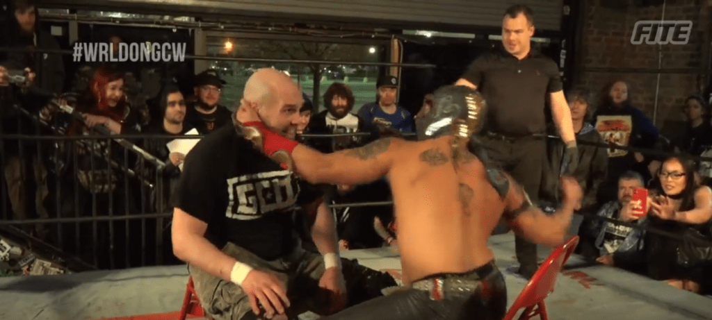 Slug fest between Gage and Ophidian