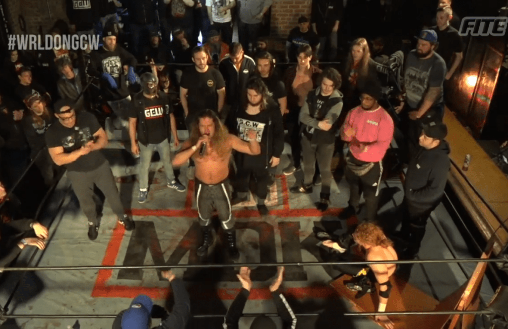 Joey Janela leads his family through hell.